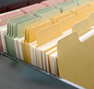 Index Cards Closeup
